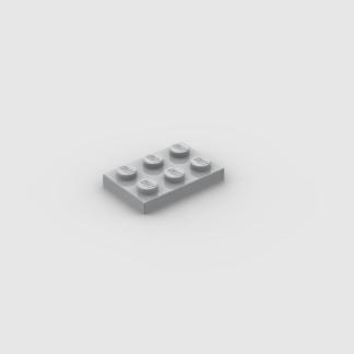 LEGO Part Light Bluish Grey Plate 2 x 3