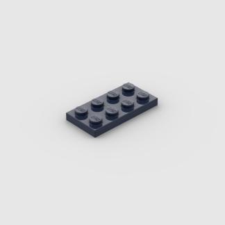 LEGO Part Dark Blue Plate 2x4