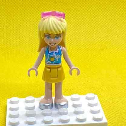 LEGO Stephanie Minidoll in a Yellow Skirt