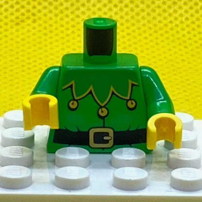 LEGO Minifigure Part Torso Green Elf