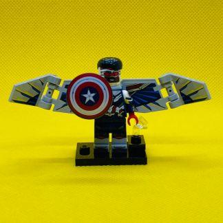 LEGO 71031 Marvel Minifigure - Falcon Sam Wilson as Captain America
