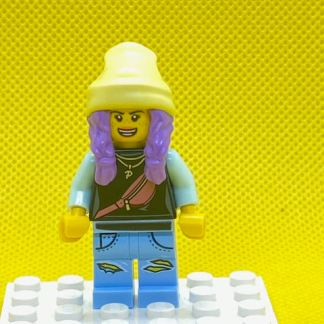 LEGO Parker L Jackson Minifigure Light blue jacket