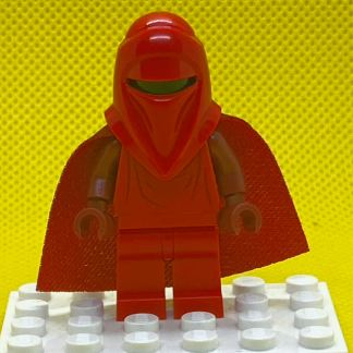 Royal Guard with Dark Red Arms and Hands (Spongy Cape)