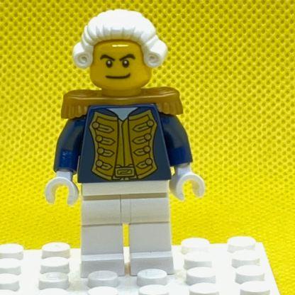 LEGO Admiral Minifigure