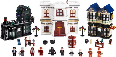 Diagon Alley Lego