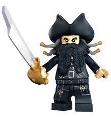 Lego Blackbeard