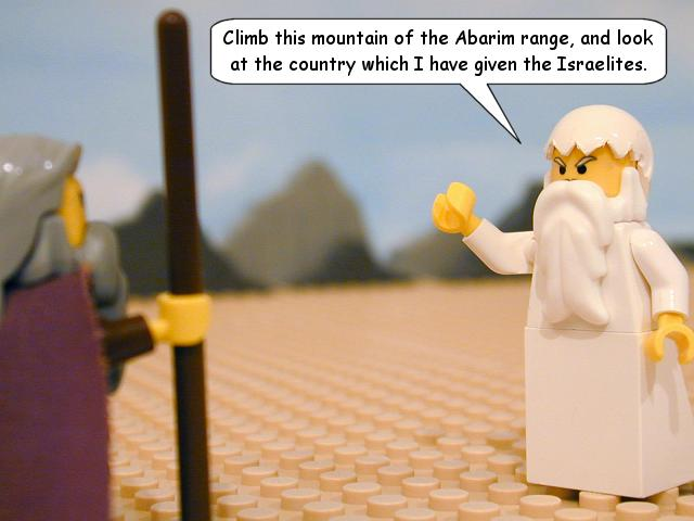 God speaks to Moses - TheBrickTestament.com