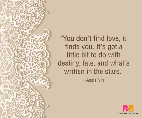 Heart Touching Love Quotes For Him - Anais Nin