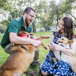 Include your fur-babies in your engagement session!