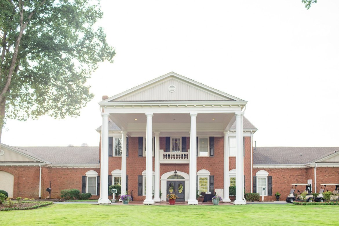 a southern country club wedding in south carolina