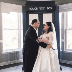 First Look - Doctor Who Wedding