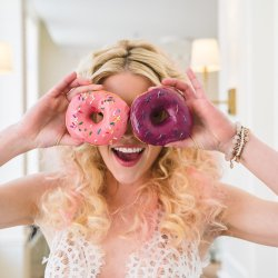 We love fun brides...and donuts!