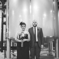 Halloween Wedding at Sweetwater Brewery, Atlanta, Georgia