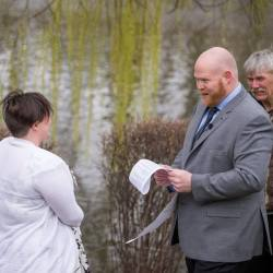 Microwedding in the park.  Photo by Unposed Photography