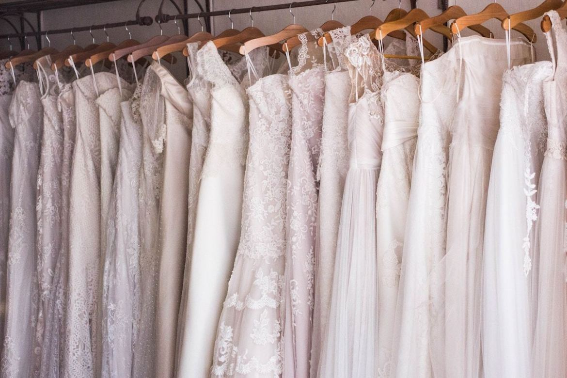 Money Saving tips Wedding Dress Shopping- Rack Bridechilla