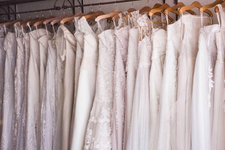 Money Saving tips Wedding Dress Shopping- Rack Bridechilla