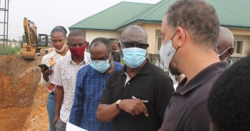 WUEDA: Macaulay Inspects Drainage Projects in Warri South, Uvwie and Environs … Projects Will Be Ready in June — Contractors