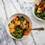 Kale Tofu & Pomegranate Stir Fry