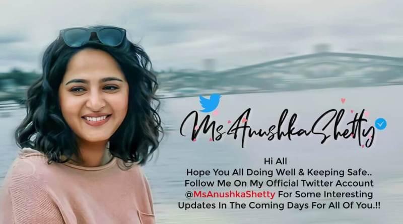 Anushka Shetty on Twitter