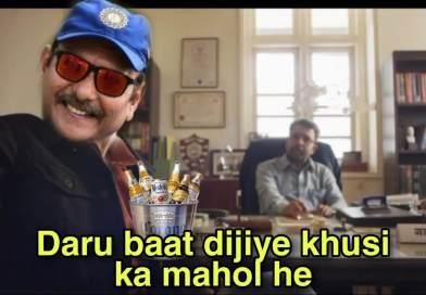 Ravi Shastri Memes Twitter