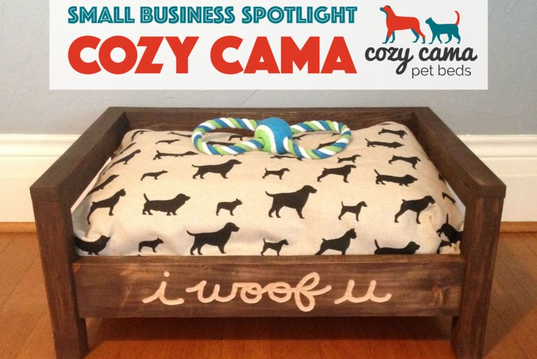 We interviewed Evan of Cozy Cama about her beautiful handmade dog beds and her life behind the scenes! PLUS: an exclusive coupon for The Broke Dog readers!