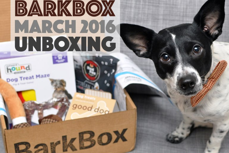 With such great products and an adorable theme, you don't need to hire Sherlock Bones to deduce why Henry loves his March BarkBox! Use code HENRYTHENUGGET to add a free box to any new BarkBox plan - even a one-month plan!