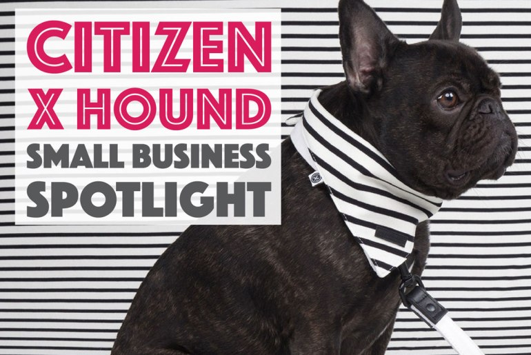 Introducing Citizen x Hound, a new New York City-based brand for the modern dog that features collections based on New York neighborhoods and towns.