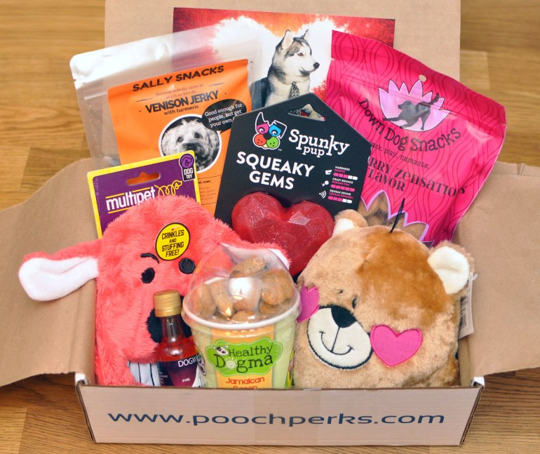 Valentine's Day may have passed, but you can still show your pups some love with the Pooch Perks Fifty Shades of Ruff box! It's stuffed with goodies that will keep them feeling loved year-round. Plus, save 10% with our Pooch Perks discount code BROKEDOGBLOG!