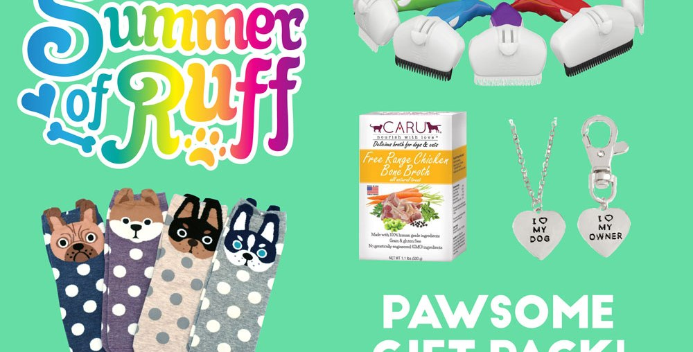 Summer of Ruff Giveaway #5: Pawsome Gift Pack!