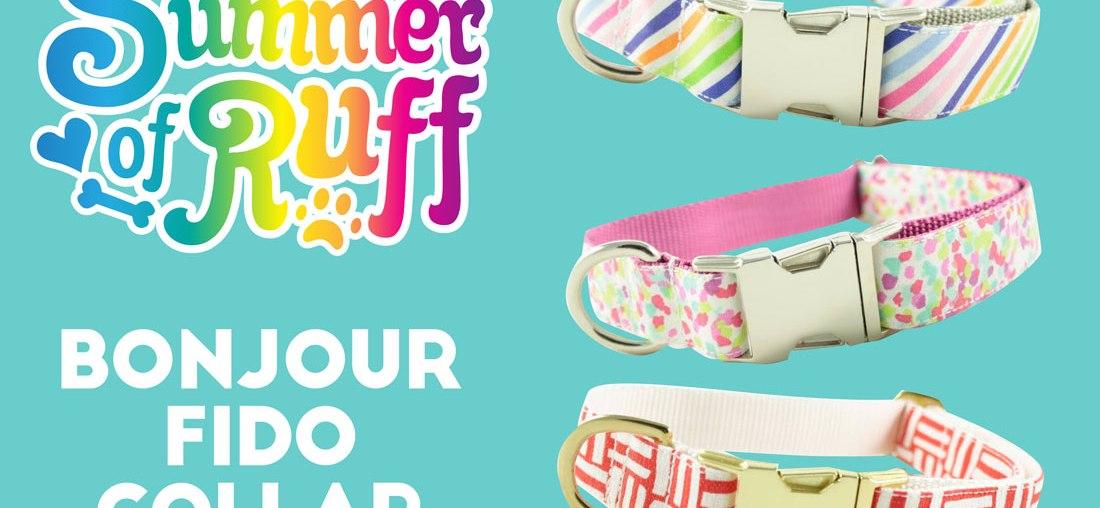 Summer of Ruff Giveaway #7: bonjour fido Collar!