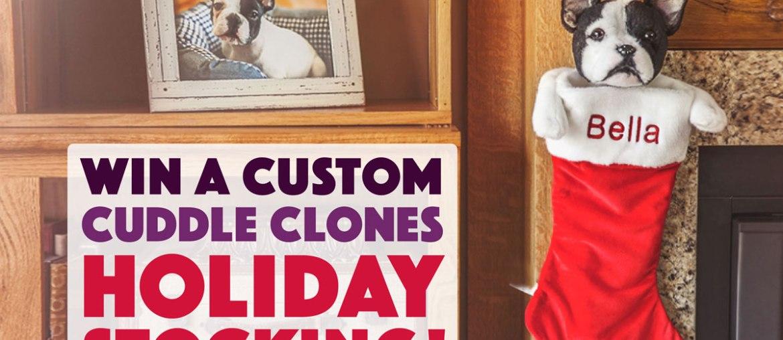 Win a Custom Cuddle Clones Holiday Stocking!
