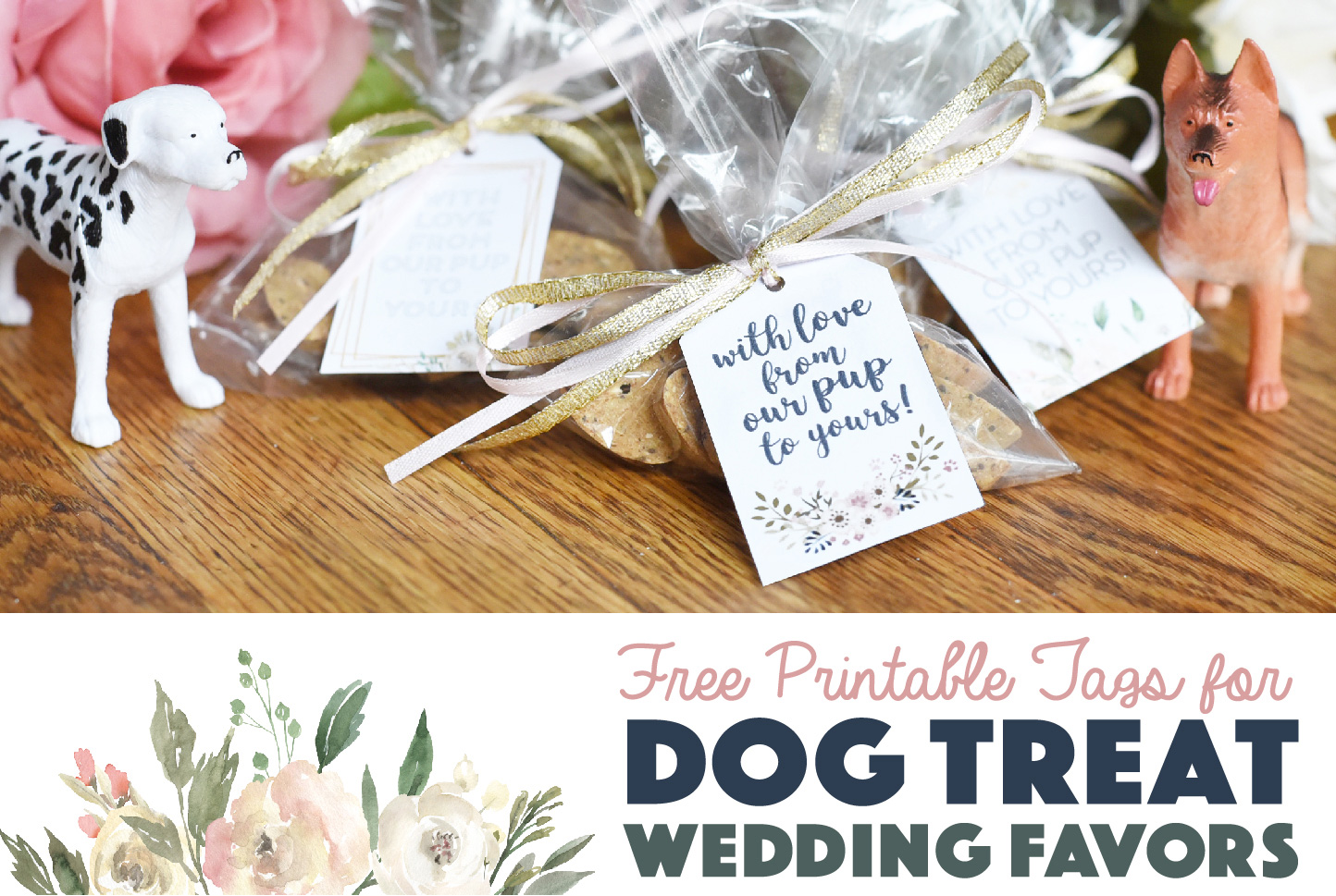 Free Printable Tags For Dog Treat Wedding Favors The Broke Dog