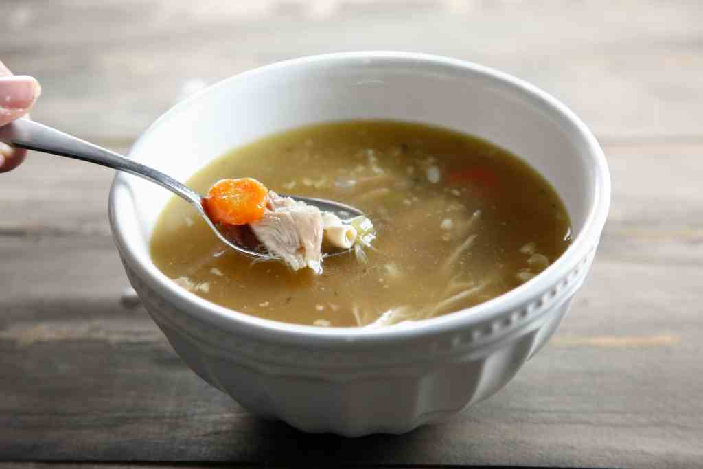 Rotisserie Chicken Soup