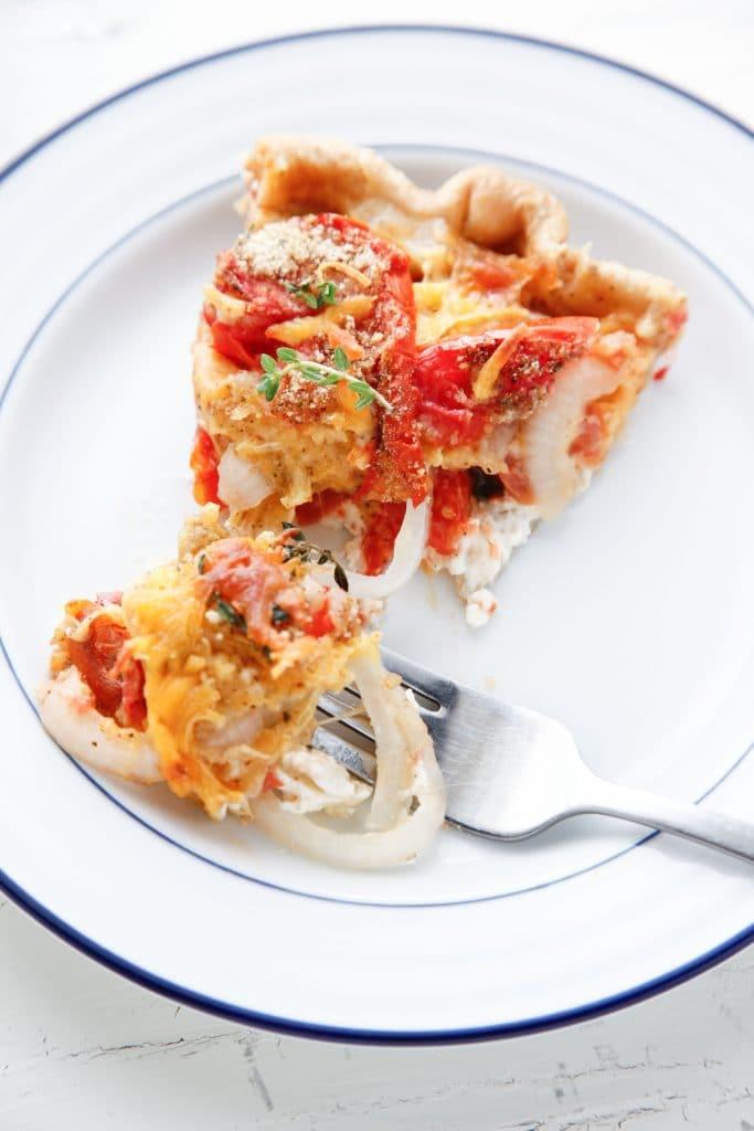 Heirloom Tomato and Veggie Pie_-13
