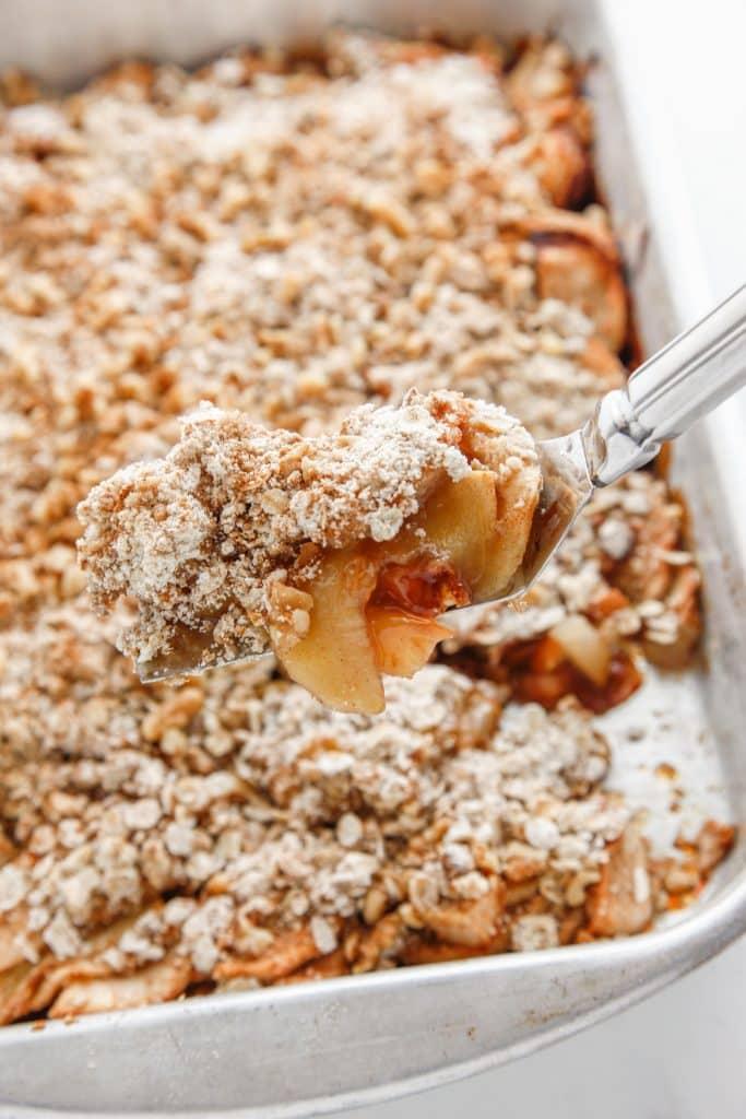 Oatmeal Apple Pear Crisp