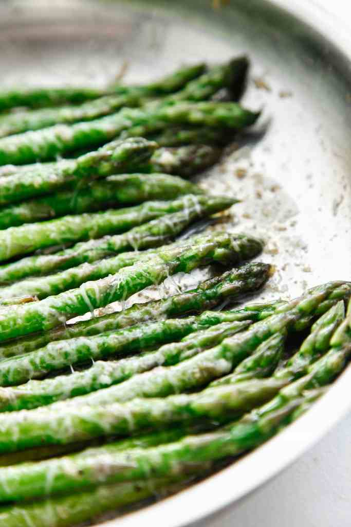 Brown Butter Parmesan Asparagus