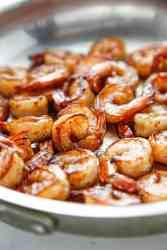 Honey Brined BBQ Shrimp