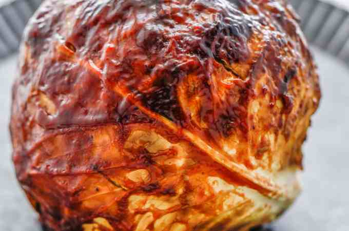 BBQ Oven Roasted Cabbage