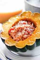 Tomato and Quinoa Stuffed Squash