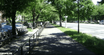 Ocean Parkway – Site of the first Bike Path in the United States