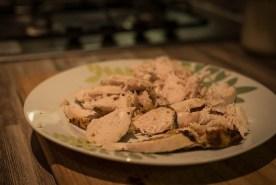 steamed chicken breast