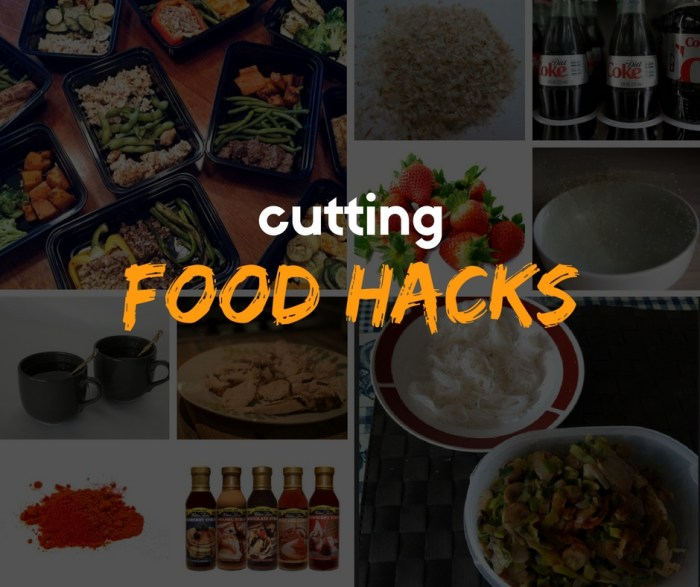 cutting food hacks