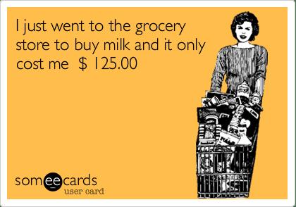 grocery shopping meme