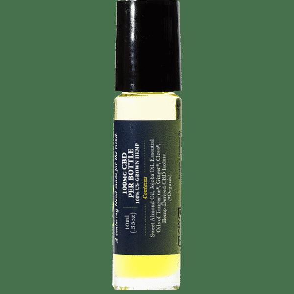 Focus CBD Essential Oil Side 1