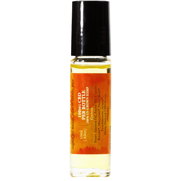 Pain Away CBD Essential Oil Side 1