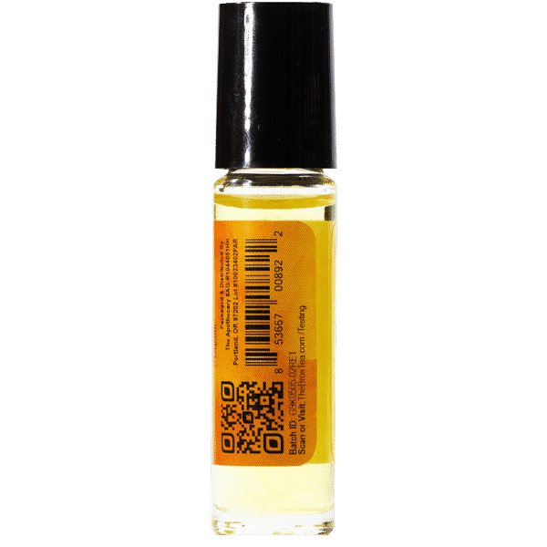 Pain Away CBD Essential Oil Side 2