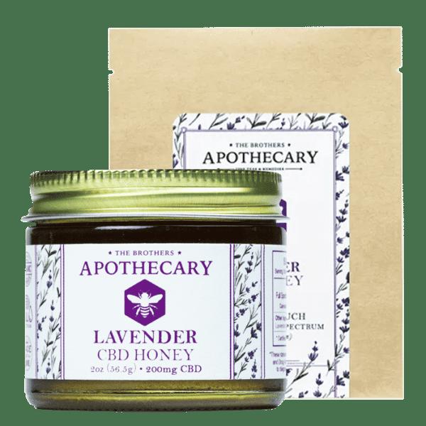 Lavender CBD Honey Jar and Bag
