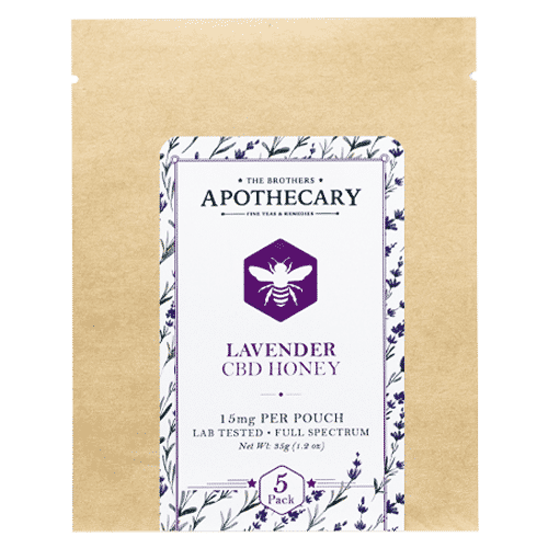 Lavender CBD Honey by The Brothers Apothecary