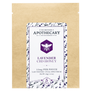 Lavender CBD Honey