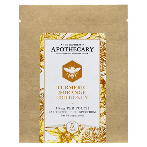 Turmeric Orange CBD Honey by The Brothers Apothecary